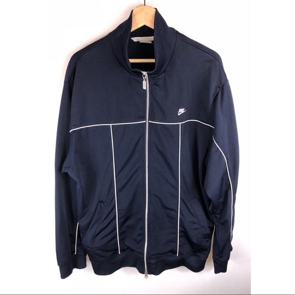 1a2e85e261c9 Vintage Nike Track Jacket Navy Blue Large. M 5ad011e19d20f0ded182a78d
